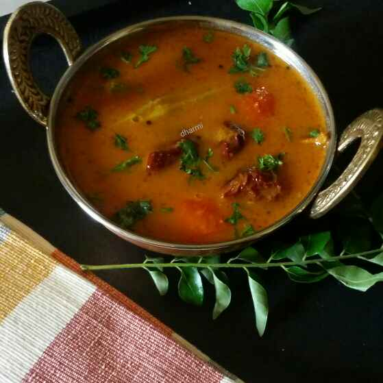 Photo of Sambhar with home Made sambhar masala by Dharmistha Kholiya at BetterButter