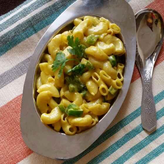 Photo of  Mayo Maggi Masala Macaroni by Dharmistha Kholiya at BetterButter