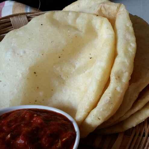 Photo of Chalupa ( fried bread ) by Dharmistha Kholiya at BetterButter