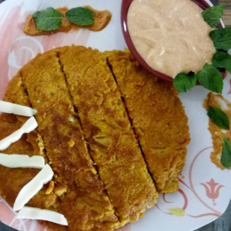 Photo of Oat & Cornflakes Veggie Delight  Pancake by Dharni Shah at BetterButter