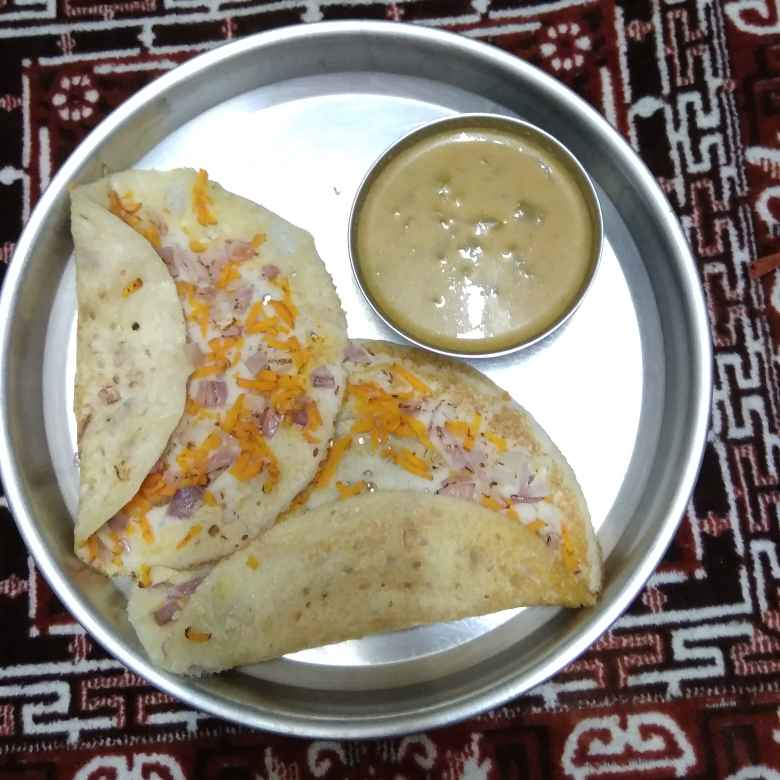 Photo of Uthappam and snakeguard curry by Dhibiya Anand at BetterButter