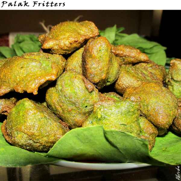 How to make Palak Fritters
