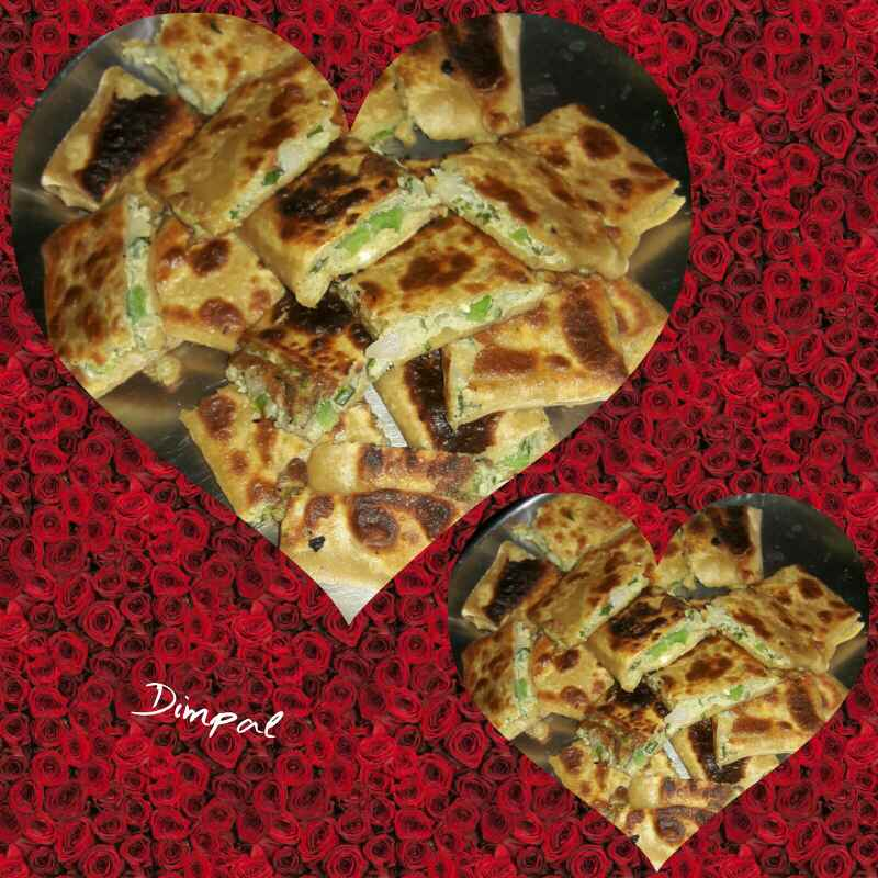 Photo of Egg paratha by Dimpal Patel at BetterButter