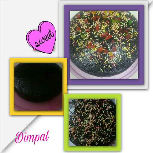 Photo of Eggless chocolate Cake by Dimpal Patel at BetterButter