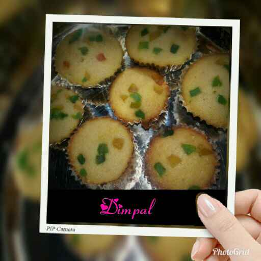 Photo of Tutti Frutti Muffins by Dimpal Patel at BetterButter