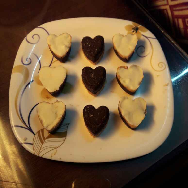 Photo of Cookies by heart by dimple bansal at BetterButter
