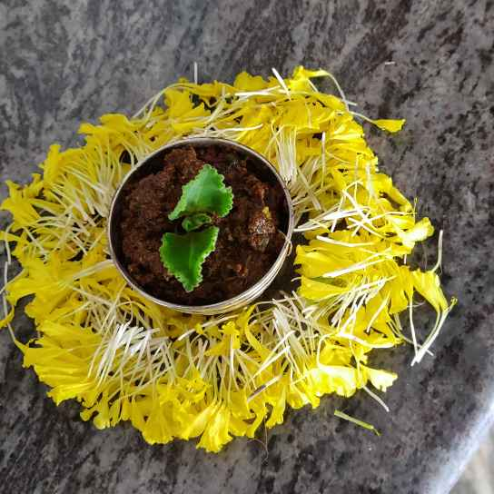 Photo of Carom seeds leaf pickle by Dimple Gullapudi at BetterButter