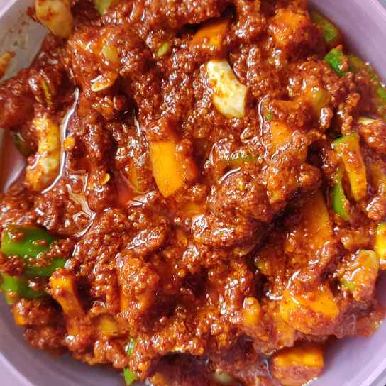 Photo of Mixed vegetable pickle by Dimple Gullapudi at BetterButter