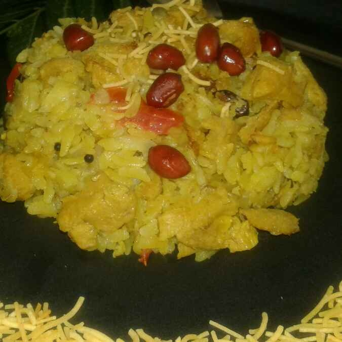 How to make সোয়া চান্ক পোহা