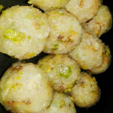 Photo of Coconut r pistachio nut laddu by Dipa Bhattacharyya at BetterButter