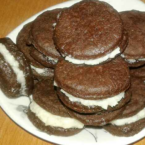 Photo of Home made oreo cookies by Dipa Bhattacharyya at BetterButter