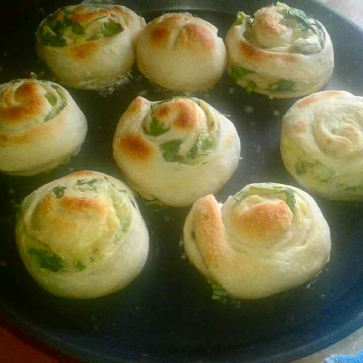 Photo of Potato & green onion bread by Dipa Bhattacharyya at BetterButter
