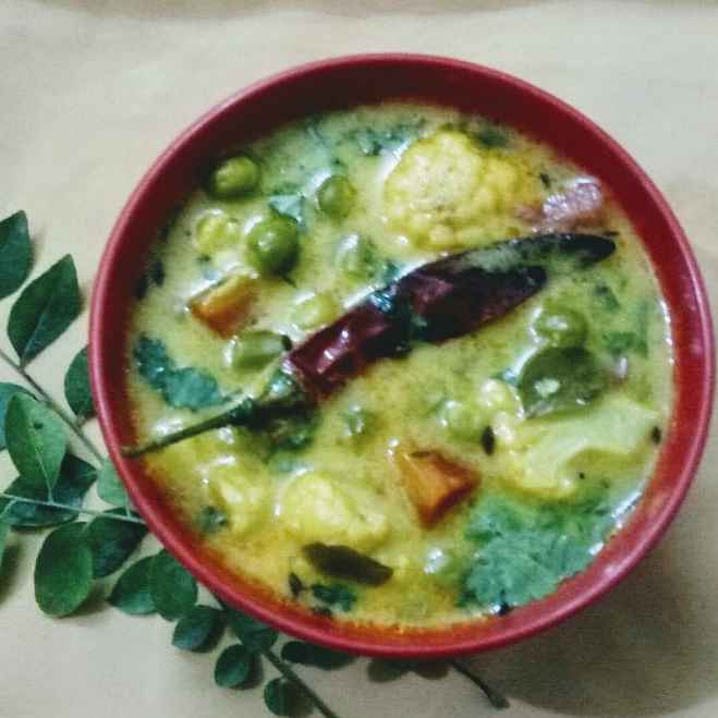 Photo of Vegetables kadhi by Dipali Modi at BetterButter