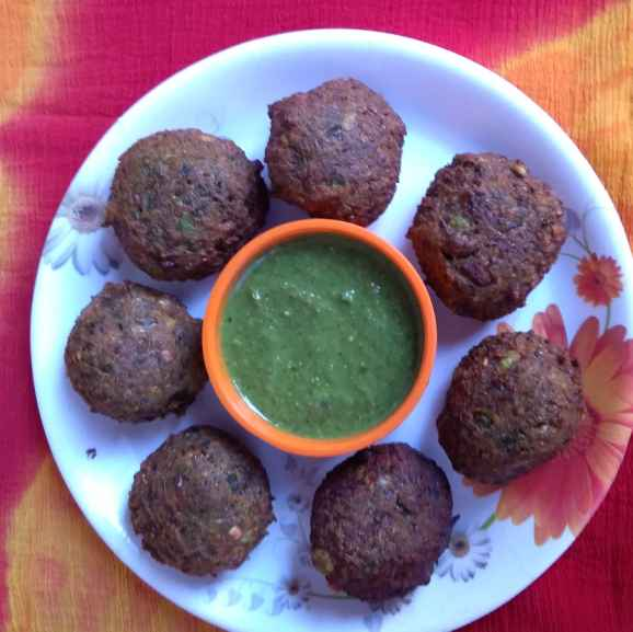 Photo of Green chickepeas falafel by Dipali Modi at BetterButter