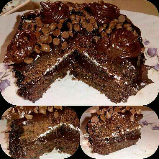 How to make Eggless Chocolate Ganache Cake