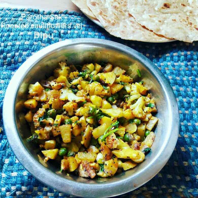 Photo of Roasted cauliflower vej by Dipika Ranapara at BetterButter
