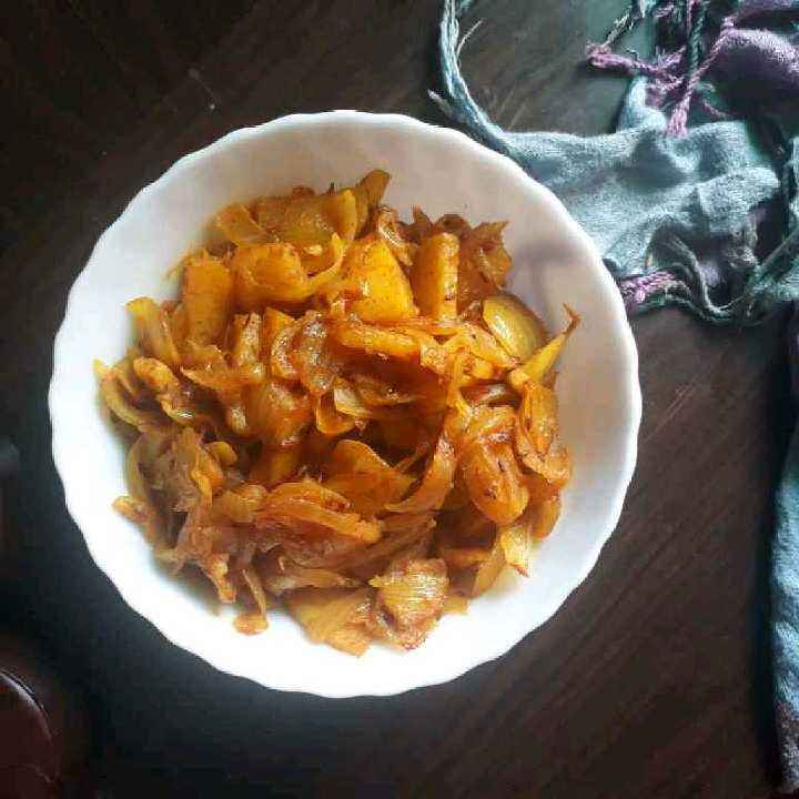 Photo of Onions potatoes sabji by Dipika Ranapara at BetterButter