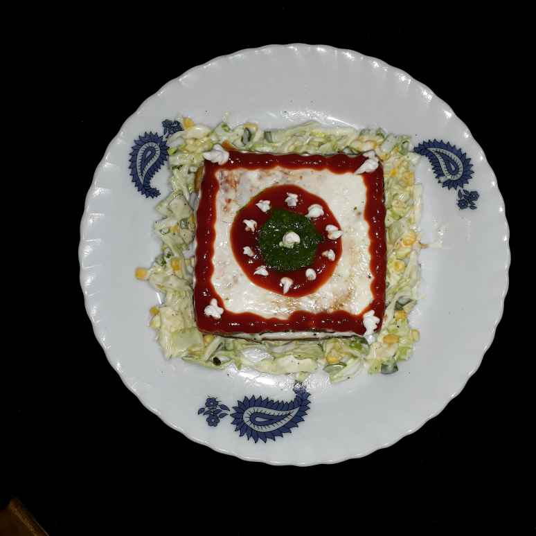 Photo of vej clab sandwich cake by Dipika Ranapara at BetterButter