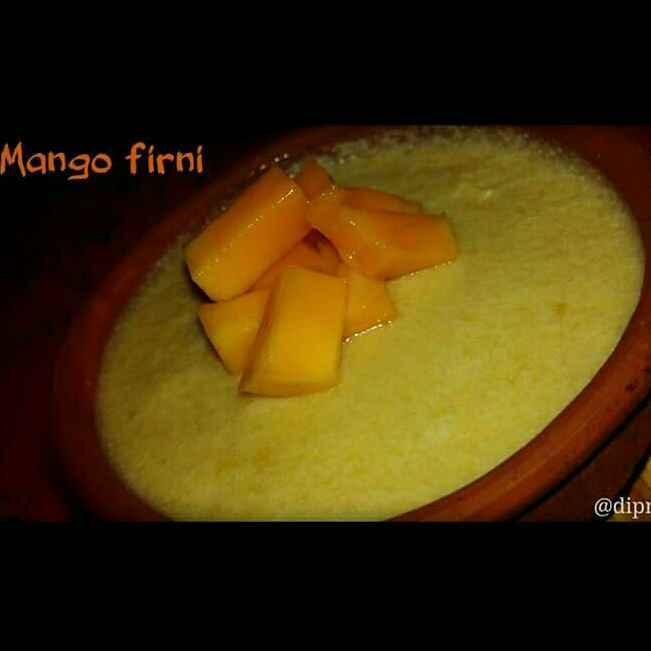 Photo of Mango firni by Dipmala Bosedutta at BetterButter