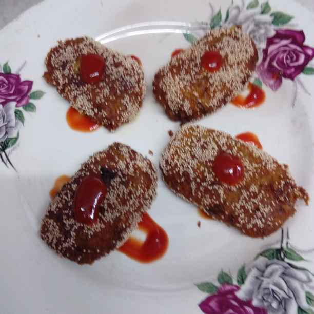 How to make leftover vermicelli cutlet