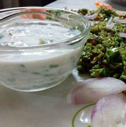 Photo of spinach raita by Disha Chavda at BetterButter