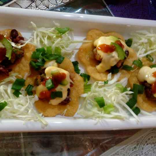 Photo of Three layerd nachos by Disha Chavda at BetterButter
