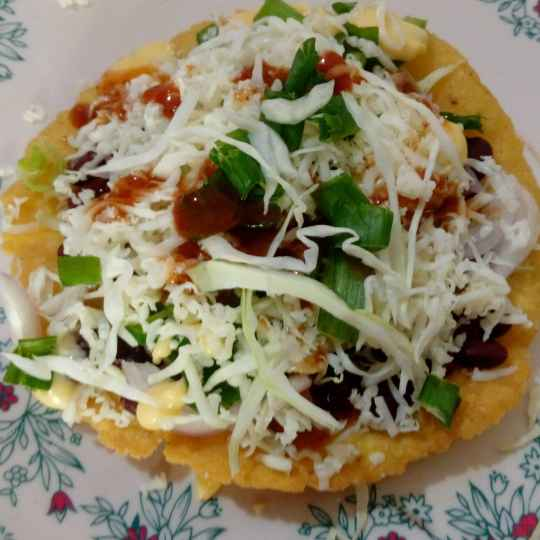 Photo of Mexican tostada by Disha Chavda at BetterButter