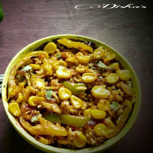 How to make Corn biryani