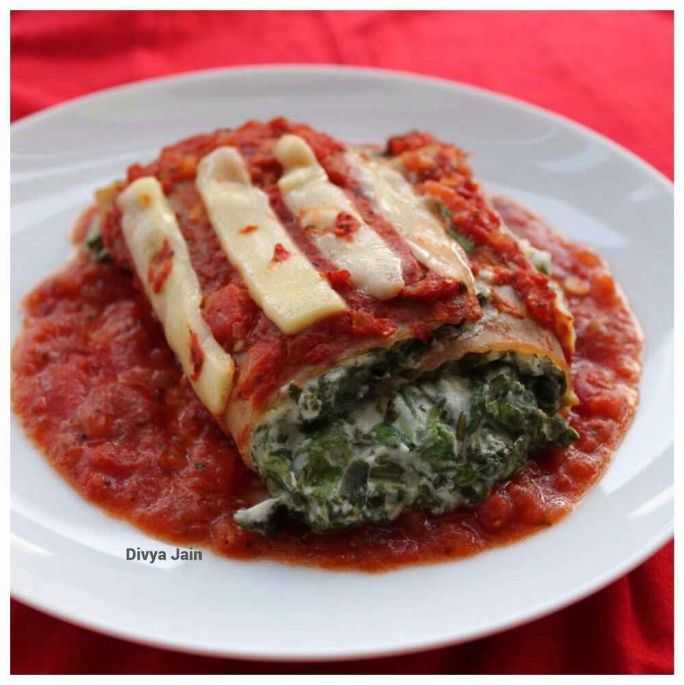 How to make Spinach Cheese Lasagna Roll-Ups