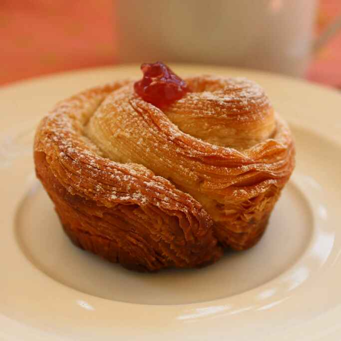 Photo of Almond and Raspberry Croffins by Divya Jain at BetterButter