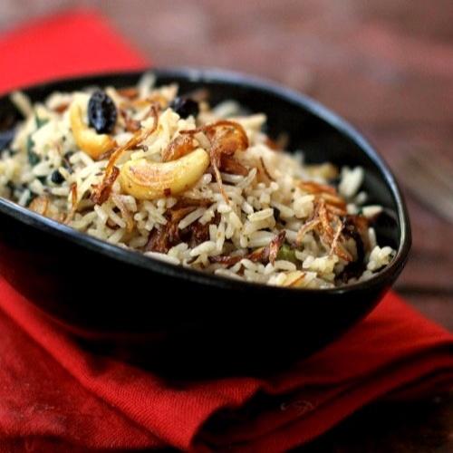 How to make काश्मिरी पुलावा
