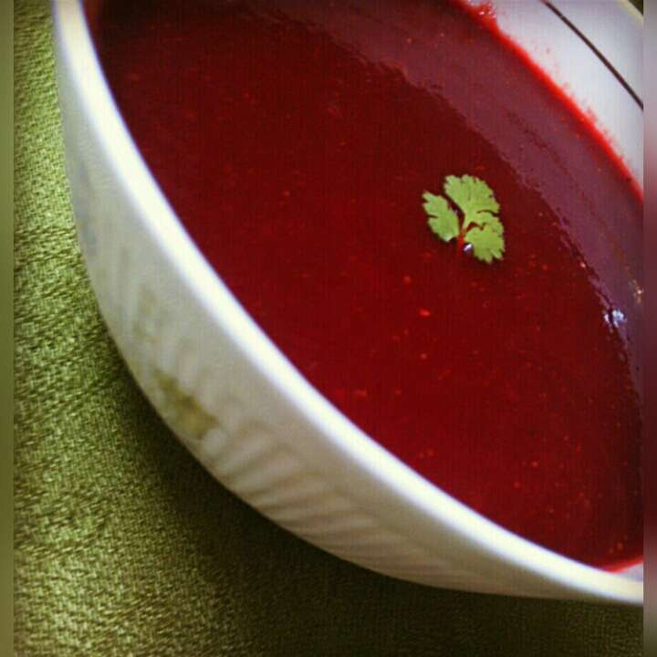 Photo of Beetroot Soup by Divya Gupta at BetterButter