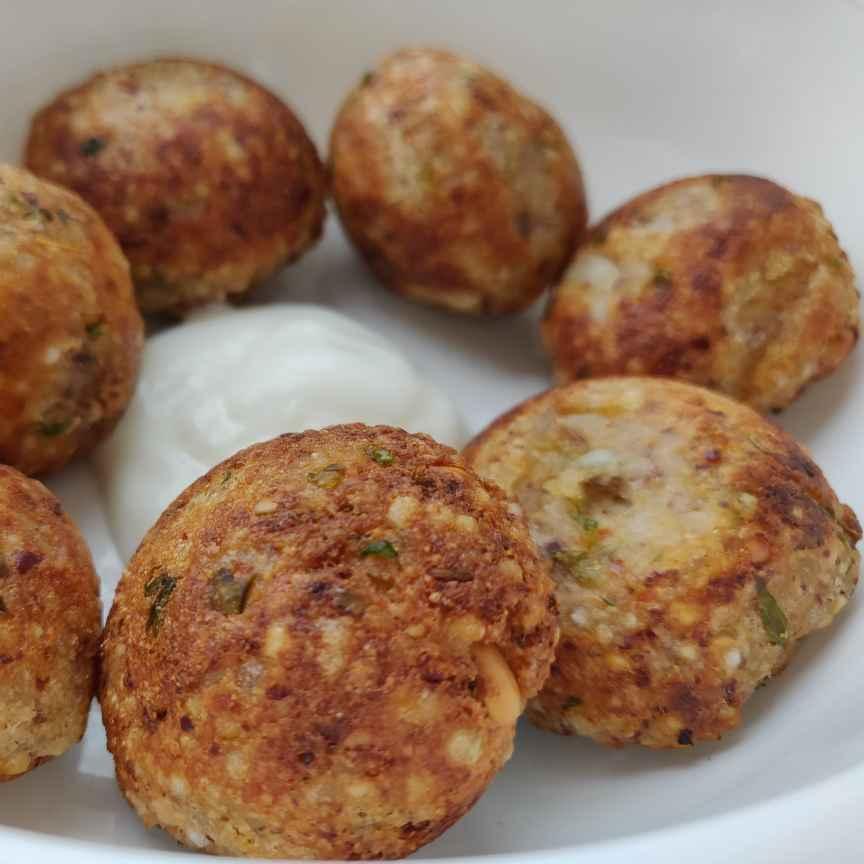 How to make Sago sweet potato Appe