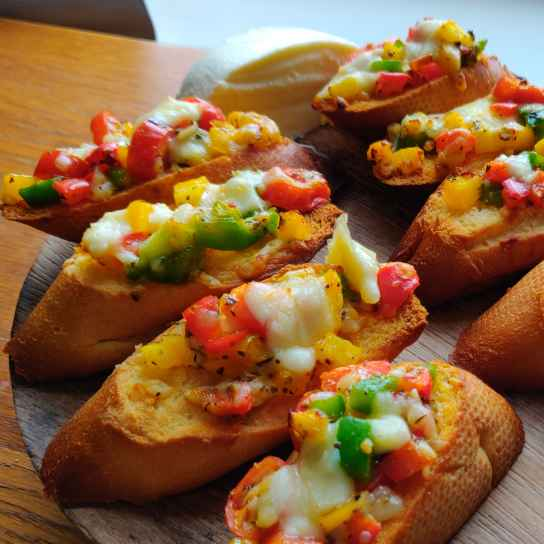 Photo of Pepper Bruschetta by divya ingle at BetterButter