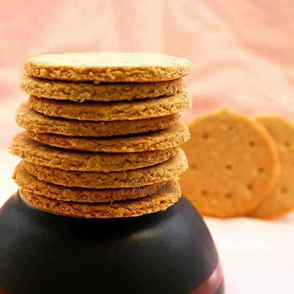 Photo of Whole Wheat Digestive Biscuits by Divya Jain at BetterButter