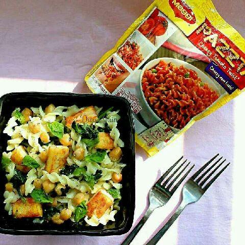 How to make Tofu, Greens and Bean Pasta