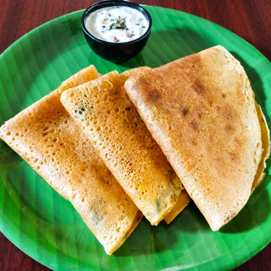 Photo of Bengal gram flour dosa/Kara Dosa by Divya  at BetterButter