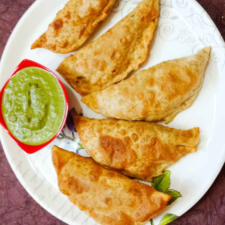 Photo of Vegetable stuffed Poori by Divya  at BetterButter