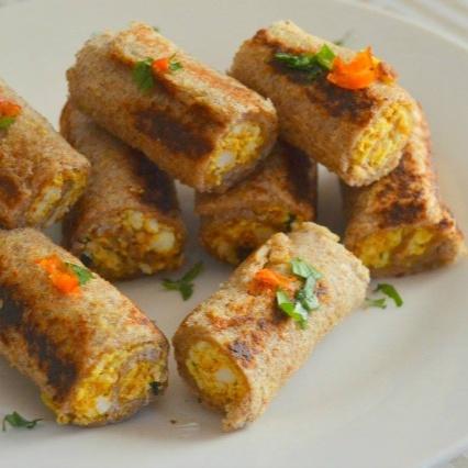 Photo of Bread Paneer rolls by Divya Rajagiri at BetterButter