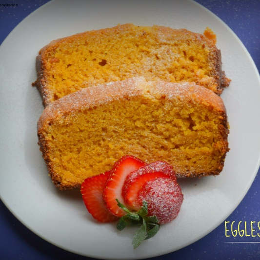 How to make Eggless Mango Cake