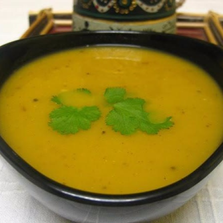 Photo of Spicy Oven Roasted Pumpkin And Carrot Soup by Donna George at BetterButter