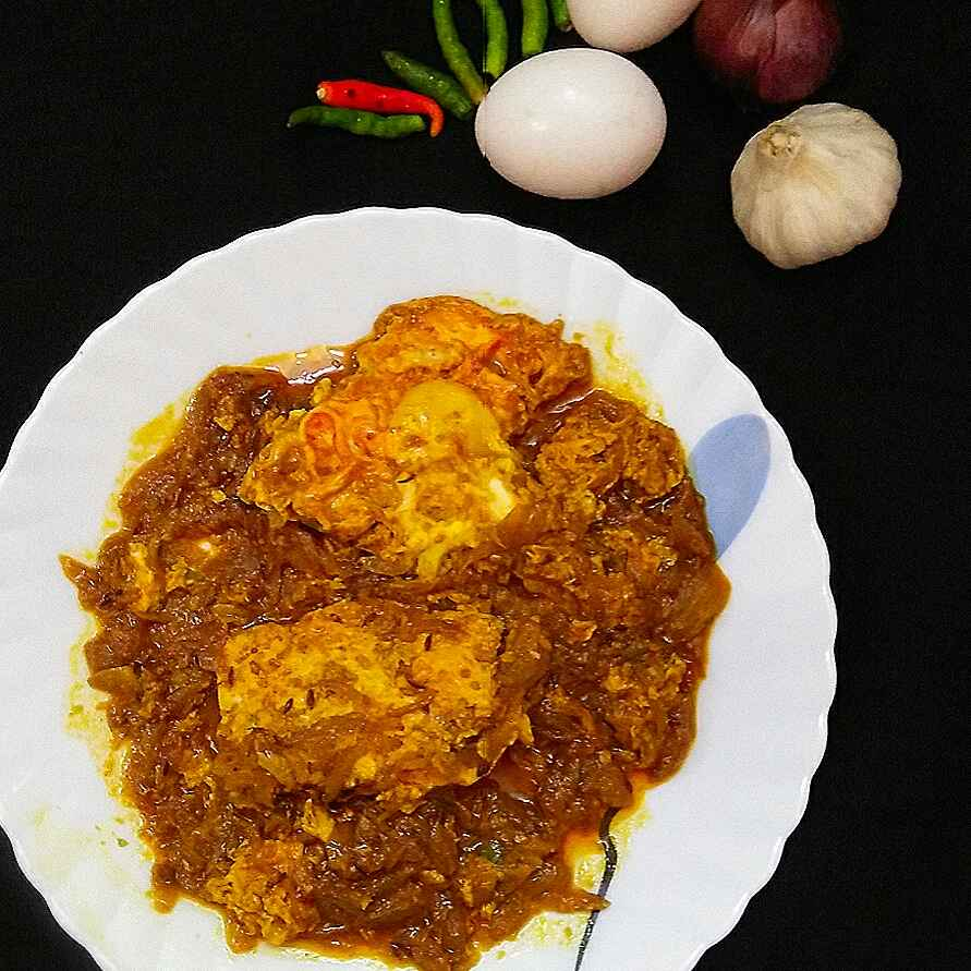 Photo of Egg poach curry by DrAmita Debnath Das at BetterButter