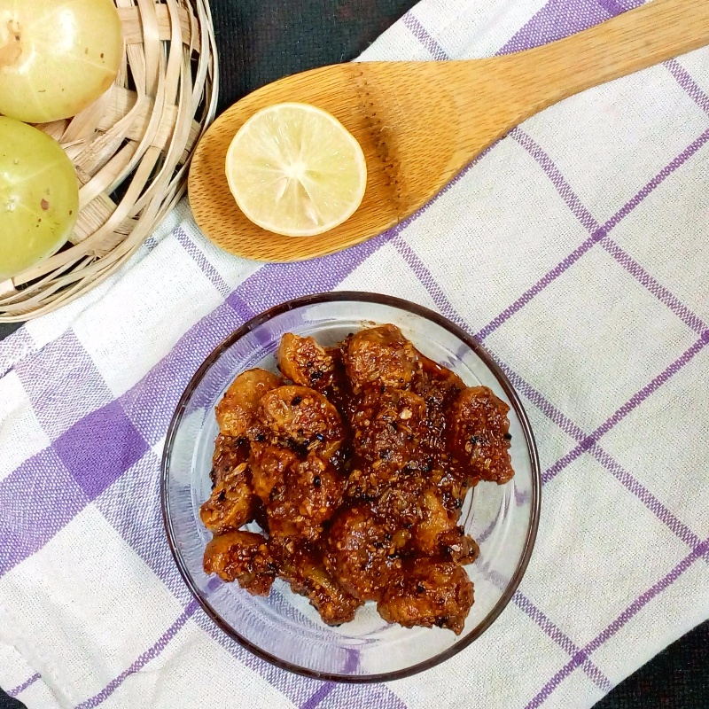 How to make Sour Amla Pickle