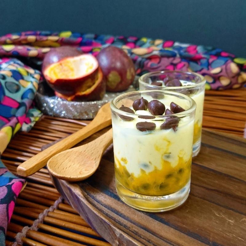 How to make Passion Fruit Shrikhand Shots