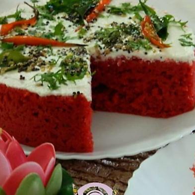 Photo of Red Velvet Rava Dhokla by DrKhushboo Bansal at BetterButter