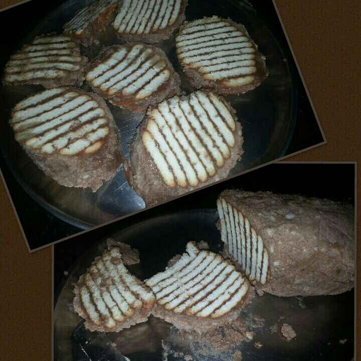How to make No Bake Choco Marie Biscuit Cake