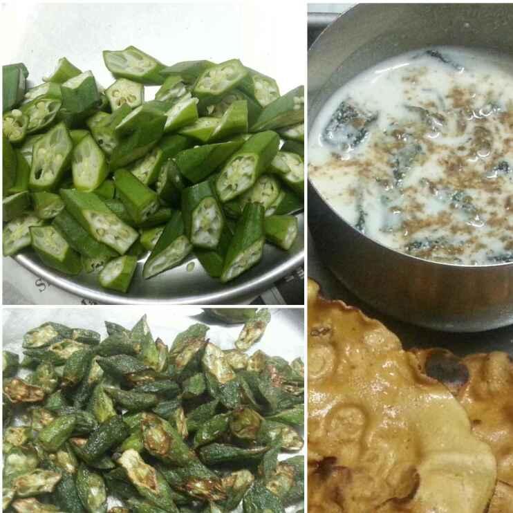 How to make Bhindi raita