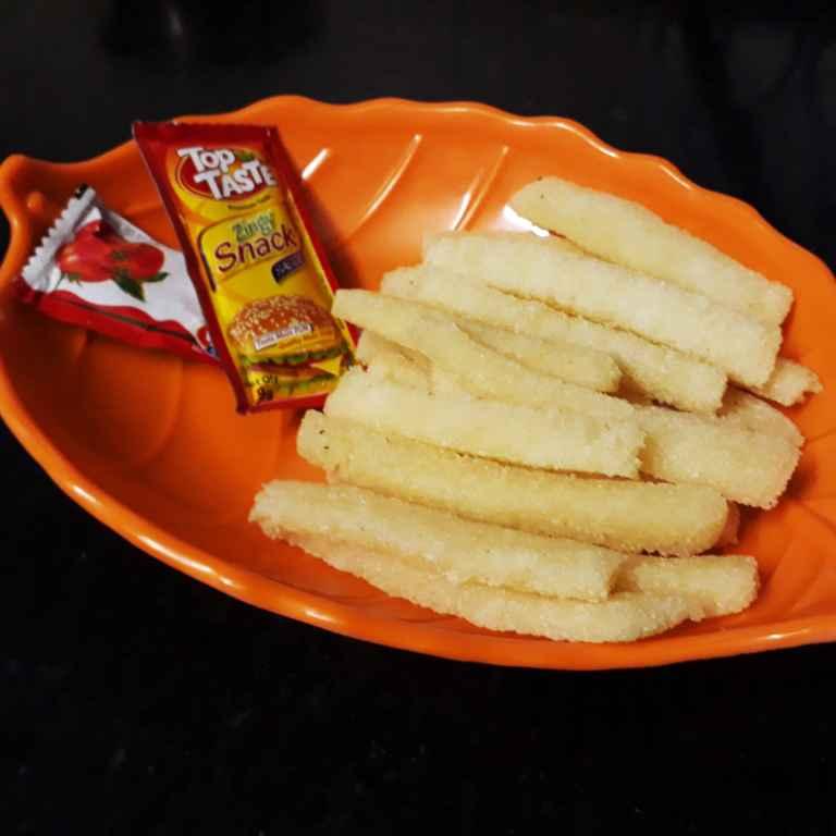 How to make Indian Fries (non potato fries)