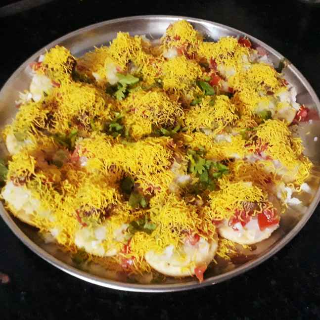 How to make Chatpati Sev puri