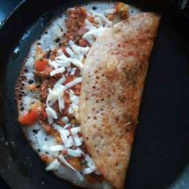 Photo of Veggi rich cheese dosa by Dr.Rajashree Kulkarni at BetterButter